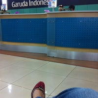 Photo taken at Garuda Indonesia Sales & Ticketing Office by selviana r. on 10/5/2012
