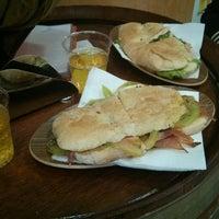 Photo taken at Paninoteca Beer Shop Come Va Va by Emma C. on 4/25/2014