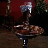 Photo taken at Black Myst Hookah Lounge by Elena O. on 10/30/2012