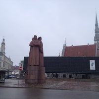Photo taken at Strēlnieku laukums | Square of Latvian Riflemen by Fevzi T. on 4/4/2013