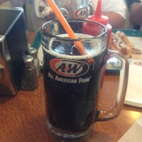 Photo taken at A&W All American Food by Jennifer H. on 7/23/2013