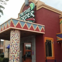 Photo taken at On The Border Mexican Grill & Cantina - Closed by Becky on 9/14/2012