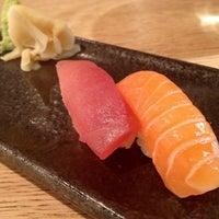 Photo taken at Sushi Shop by ZenFoodster Eats on 5/9/2013