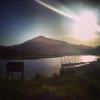 Photo taken at Corte Madera Creek by sarah p. on 4/13/2013