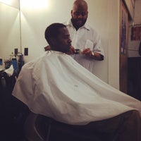 Photo taken at Ray's Barber Shop by Daysi P. on 2/22/2014