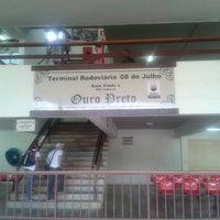 Photo taken at Terminal Rodoviário de Ouro Preto by Thaís M. on 9/14/2012