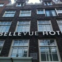 Photo taken at Hotel Bellevue by Elçin A. on 2/20/2013