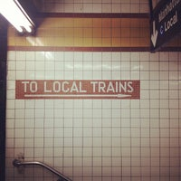 Photo taken at MTA Subway - Nostrand Ave (A/C) by Chelsea on 9/16/2013