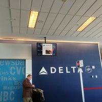 Photo taken at Gate B18 by Ted A. on 2/25/2013