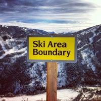 Photo taken at Buttermilk Mountain by Felipe G. on 12/29/2012