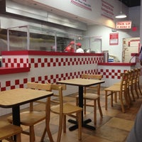 Photo taken at Five Guys by Carly P. on 5/5/2013