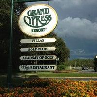Photo taken at Villas of Grand Cypress Orlando by Maria on 10/4/2012