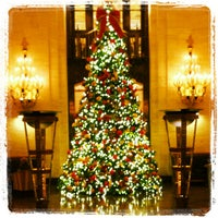 Photo taken at Palmer House - A Hilton Hotel by Kevin B. on 12/21/2012