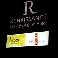 Photo taken at Renaissance Orlando Airport Hotel by Liliana T. on 9/23/2013