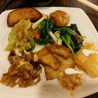 Photo taken at Lotus Vegetarian Restaurant by 艾琳 丁. on 8/18/2016