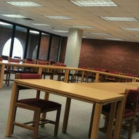 Photo taken at Cowles Library by Mirza M. on 11/1/2012