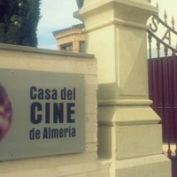Photo taken at Casa del Cine de Almería by QQ on 3/29/2013