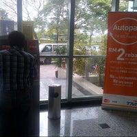 Photo taken at Telekom Malaysia Cyberjaya by Anonimursi S. on 1/7/2013