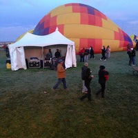 Photo taken at The Stage @ Balloon Fiesta Park by Marlon L. on 10/8/2013