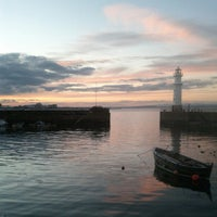 Photo taken at Newhaven Harbour by HaxSyn on 10/21/2012