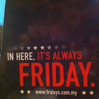 Photo taken at T.G.I. Friday's by Rehab G. on 5/30/2013