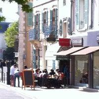 Photo taken at Le Cafe De La Paix by Laurent R. on 9/21/2013