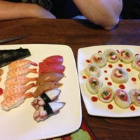 Photo taken at Sushi Delight by Christi S. on 5/6/2013