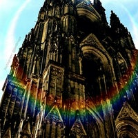 Photo taken at Cologne Cathedral by Nidal S. on 6/26/2013