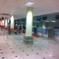Photo taken at Aeroporto de Teresina / Senador Petrônio Portella (THE) by lucas l. on 4/26/2013