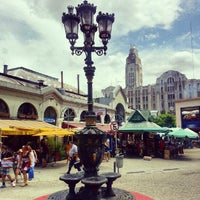 Photo taken at Mercado del Puerto by Andres B. on 1/4/2013