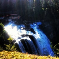 Photo taken at Snoqualmie Falls by Anna K. on 3/8/2013