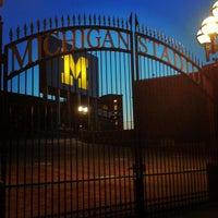Photo taken at Michigan Stadium by Ryan K. on 3/30/2013