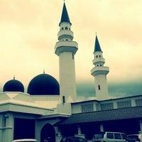 Photo taken at Masjid At-Taqwa by youyou on 11/3/2012