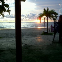 Photo taken at Pantai Panjang (Long Beach) by amelia f. on 5/17/2014
