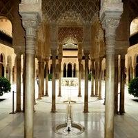 Photo taken at La Alhambra y el Generalife by Bryant B. on 3/22/2013