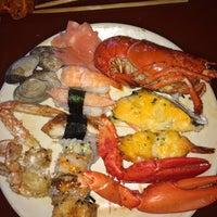 Photo taken at Osaka Seafood Buffet by Mel on 5/11/2014