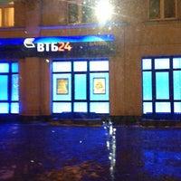 Photo taken at ВТБ24 by Julia M. on 12/27/2012