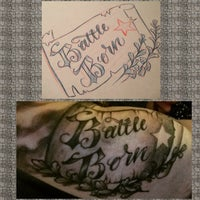 Photo taken at Artful Dodger Tattoo by Beau S. on 4/6/2015