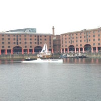 Photo taken at Albert Dock by Caia R. on 6/8/2013