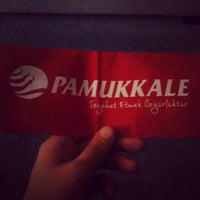 Photo taken at Pamukkale Turizm by Buket Z. on 7/8/2013