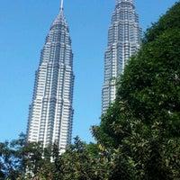 Photo taken at Kuala Lumpur City Centre (KLCC) Park by Edy S. on 1/20/2013