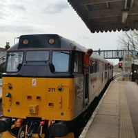Photo taken at Wymondham Railway Station (WMD) by Peter H. on 3/30/2015