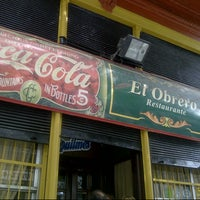 Photo taken at El Obrero by Gab R. on 11/10/2012