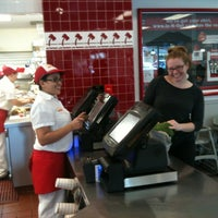 Photo taken at In-N-Out Burger by Jenna A. on 11/17/2012