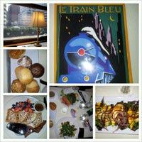Photo taken at Le Train Bleu by Anna H. on 3/4/2013