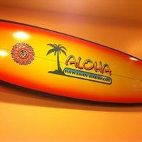 Photo taken at Aloha Hawaiian Barbeque by Zarah P. on 4/15/2013