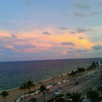 Photo taken at W Fort Lauderdale by Zilya on 9/30/2012