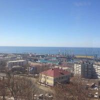 Photo taken at ОАО Сахалинское морское пароходство by Максим Ж. on 3/26/2014