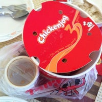 Photo taken at Jollibee by chenee kate I. on 4/30/2013
