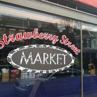 Photo taken at Strawberry Street Market by Melanie Crocco K. on 2/10/2013